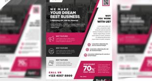 Multipurpose Modern Business Flyer PSD Template