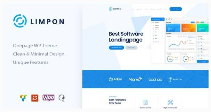 Limpon wordpress theme
