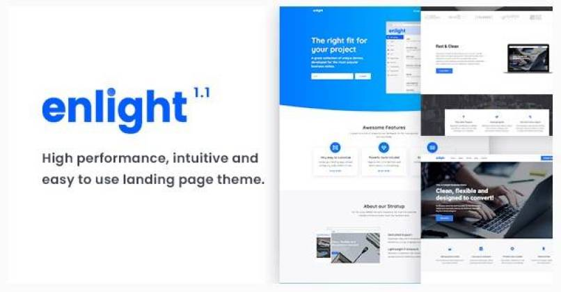Enlight wordpress theme