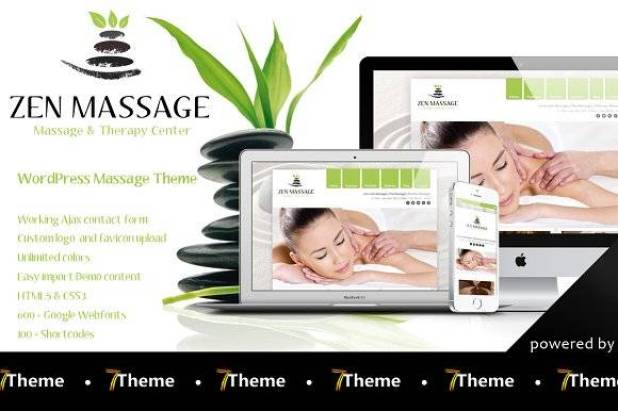 Zen - Massage Salon WP Theme