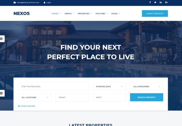Nexos - Real Estate Agency Directory