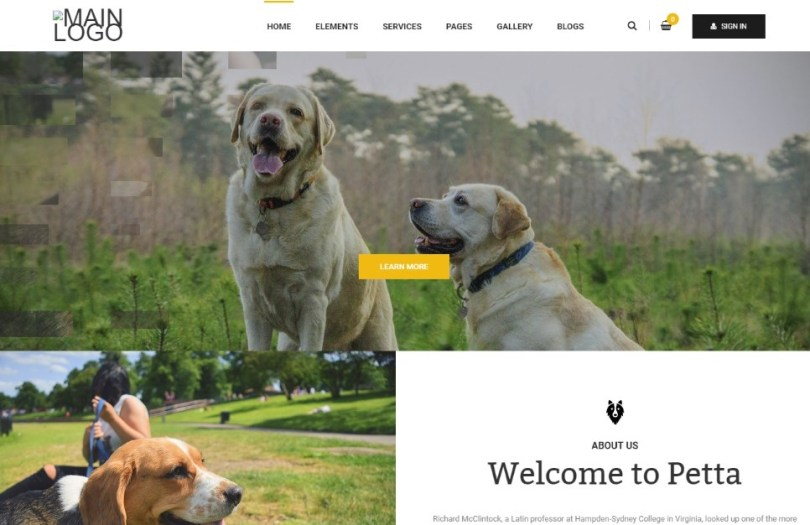 Petta - Premium Pet Care WordPress Theme