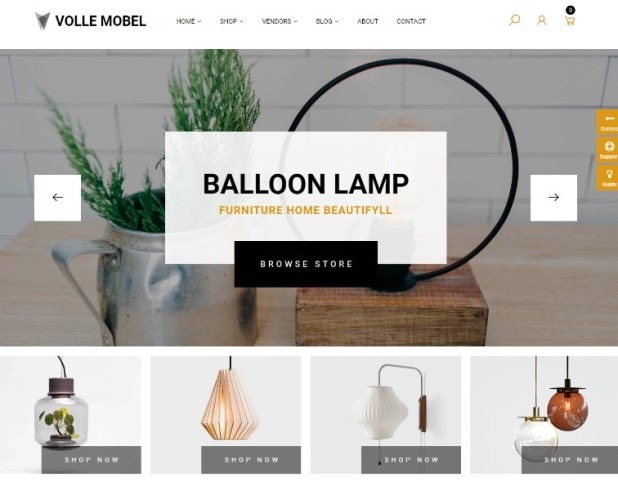 Vollemobel - Furniture WooCommerce WordPress Theme