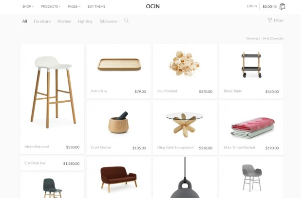 Ocin - Responsive WordPress WooCommerce Theme