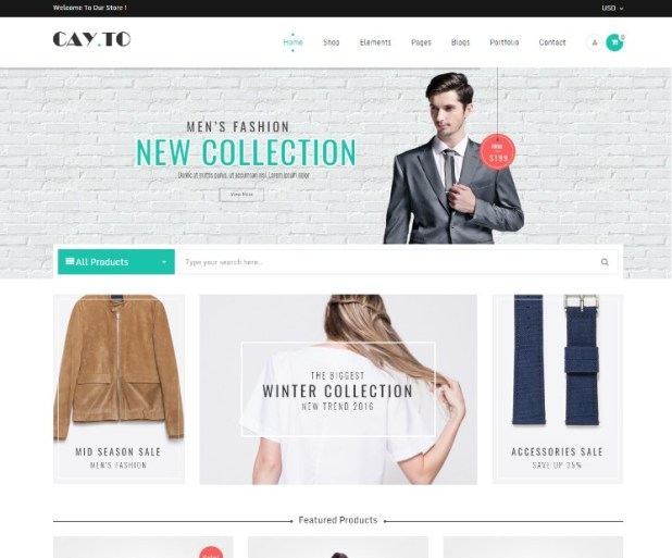 Cayto - The Best WooCommerce Responsive WordPress Theme