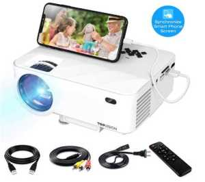 Mini Projector, TOPVISION Video Projector