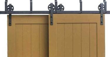 best sliding barn door hardware