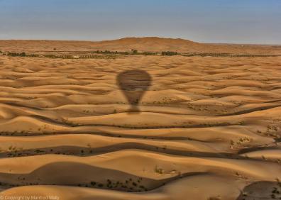 Ballonfahrt in der Wüste VAE