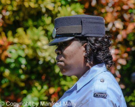 Polizistin Domenica Karibik