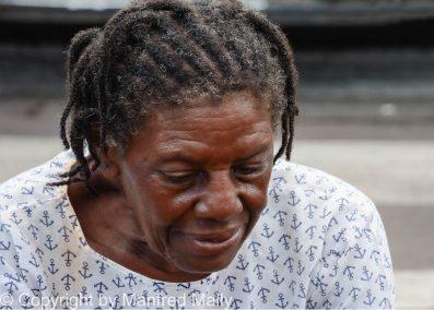 Fischer's Frau Guadelupe Karibik