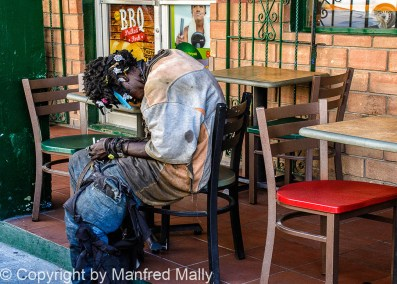 Aussteiger St Johns Antigua Karibik