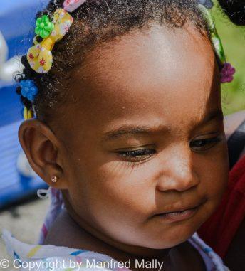 Kleinkind St. Lucia Karibik