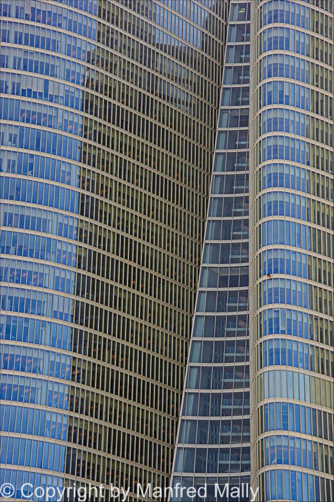 Fassade Abu Dhabi VAE
