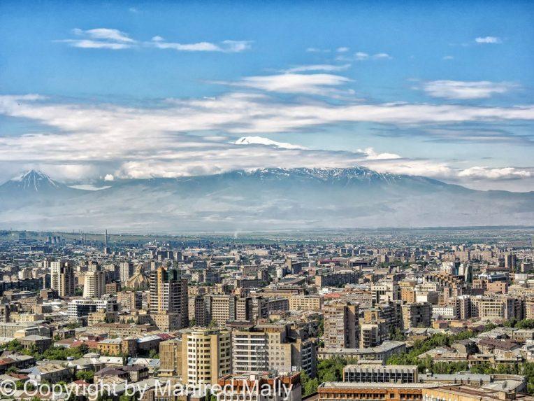 Jerewan Hauptstadt von Armenien