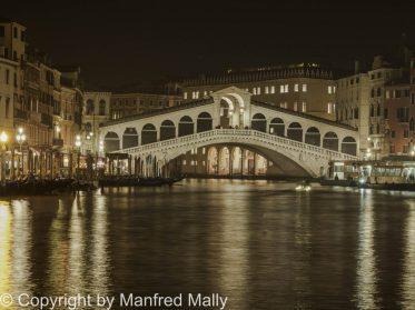Canale Grande Venedig Nachtaufnahme