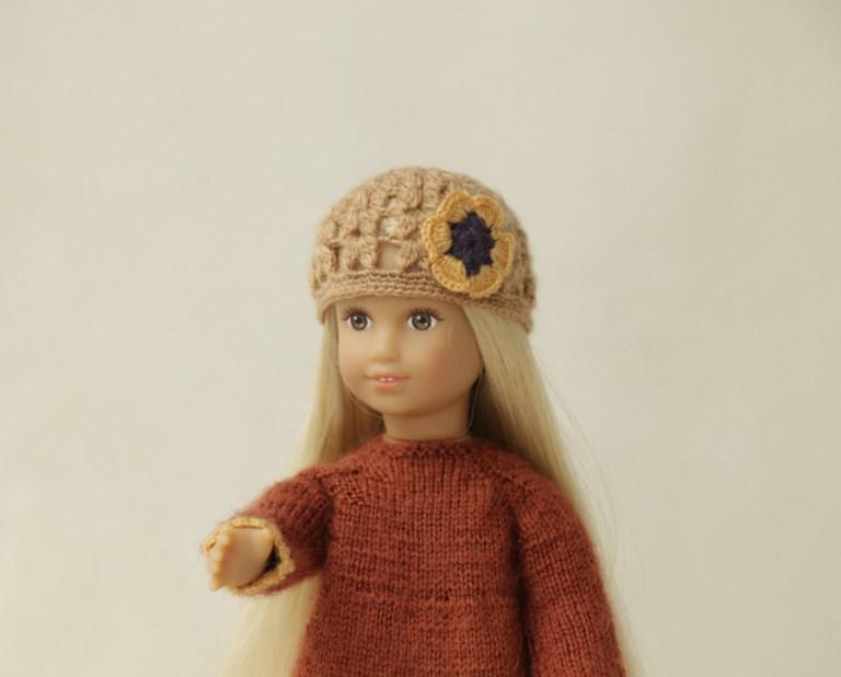 """Fashion verdict"" show for Julia, AG mini girl doll."