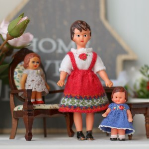 Miniature clothes to ARI german dolls