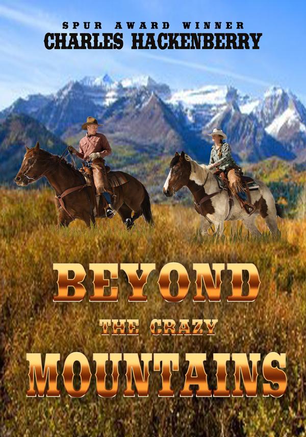 Cowboy Book Cover Design Crazy Mountains Creativindie