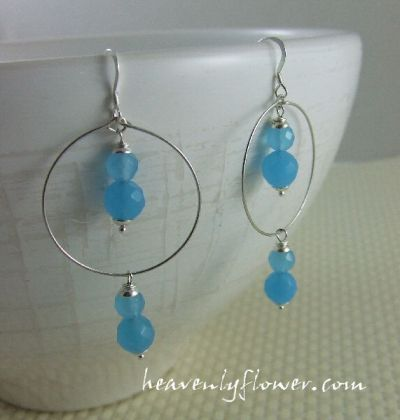 Jewelry Inspired: Aqua Blues…