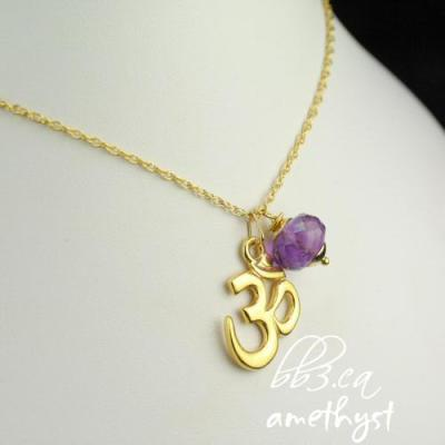 OM Pendant Necklace & Yummy Gemstones…