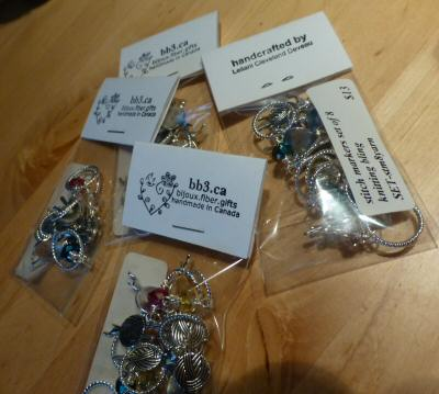 New Packaging for Stitch Markers