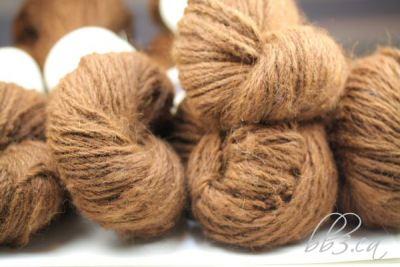 New Alpaca Handspun Yarn Listed