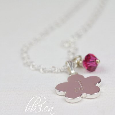 New Chain on Child's Flower Necklaces