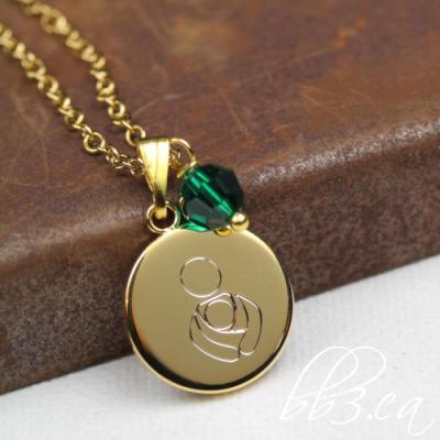 International Babywearing Symbol Necklace Plus New Advocacy Keychain Sets