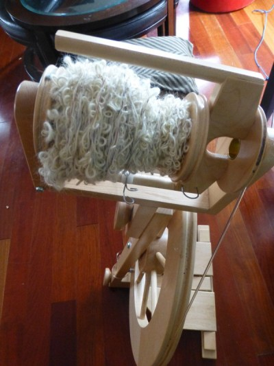 Spinning Bouclé Textured Yarn