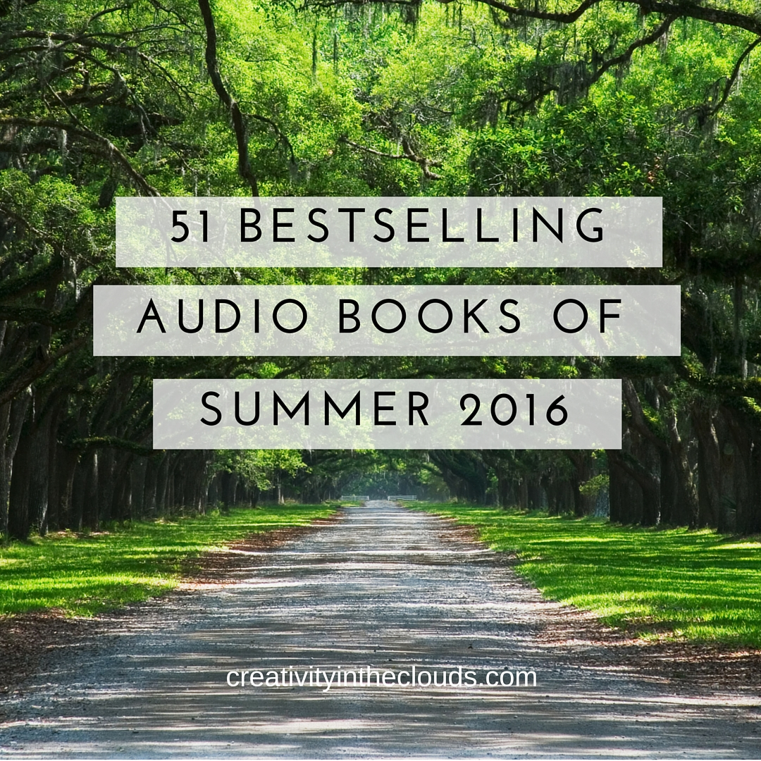 51 Bestselling Audio Books Summer 2016