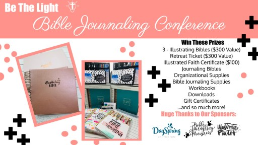 Bible journaling conference giveaway. October 16-18