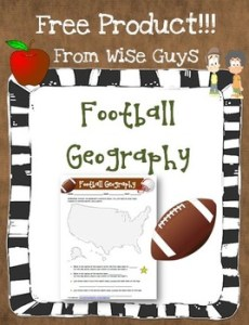 Free Football Geography Worksheet