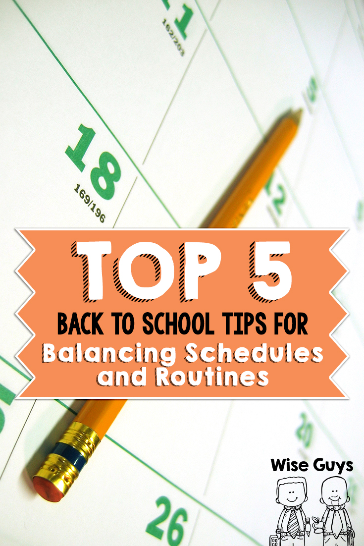 The beginning of the school year is fast approaching. For first year, and even veteran teachers, working on schedules and routines can be a stumbling block. But we have 5 tips that should help you start the year off great.
