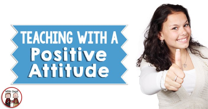 Attitude is everything when it comes to being a teacher in school. When you walk out your front door each morning, you get to make the choice of how your day will go. Here's how I make sure I'm teaching with a positive attitude from the first bell to the last! Teaching with a positive attitude is a must.