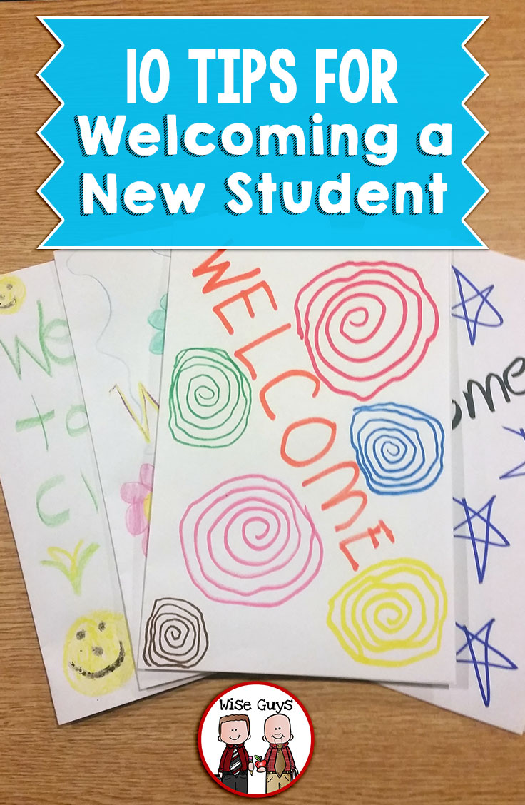 A new student in the middle of a term can be hard on everyone, especially that student! Here's our top 10 tips for welcoming a new student and starting them off on the right foot.