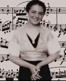 Alice Herz-Sommer as a young woman