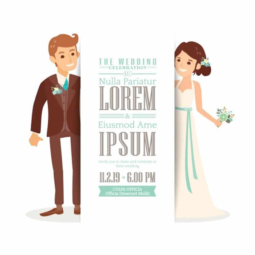 Cute Wedding Invitation Wording Samples