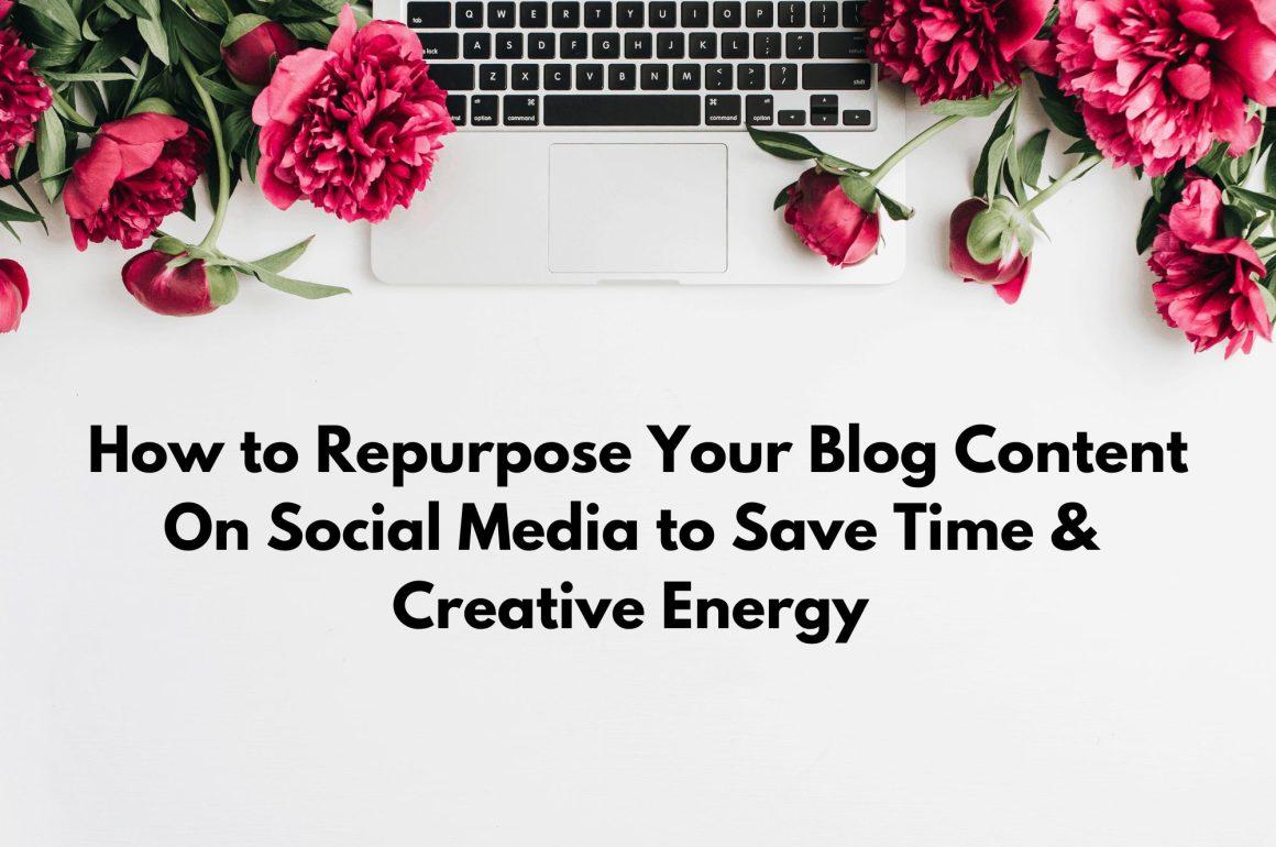 repurposing content on social media