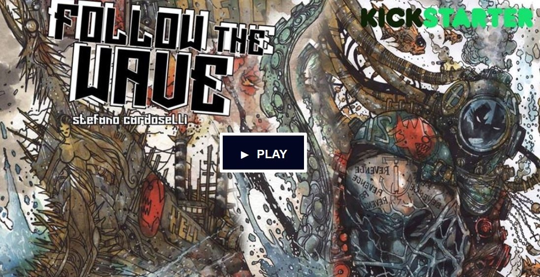 Follow the WAVE to KICKSTARTER – INDIE ADVOCATES: The GLOBAL