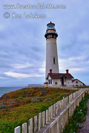 Pigeon Point Lighthouse - Vertical