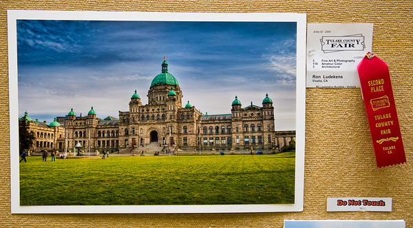 British Columbia's Legislative Building - Victoria
