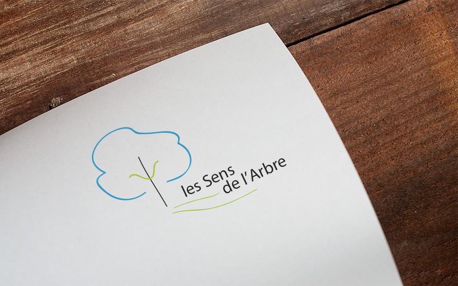 Les Sens De L Arbre Logo Sur Mesure