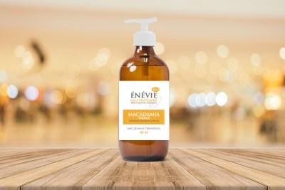 Packaging sur-mesure étiquette flacon huile végétale - cecile spadotto creatrice graphique Graphiste Tarn - Webdesigner Tarn