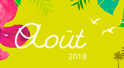 Calendrier AOUT 2018