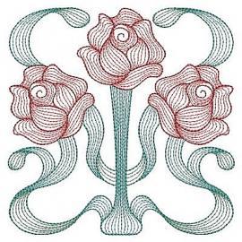 fleurs art nouveau creatrices