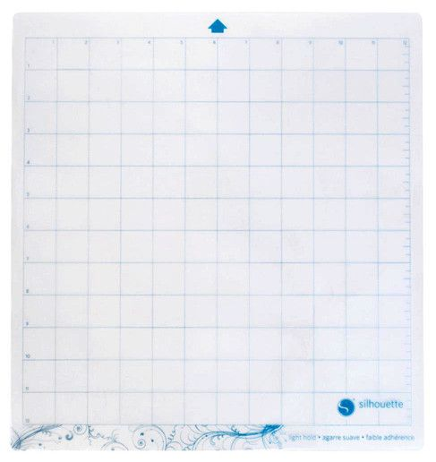 feuille de transport faible adherence pour silhouette cameo