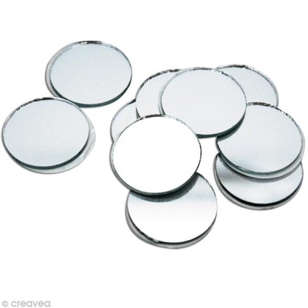 Miroir Rond Adhesif 15 Mm X20 Miroir Adhesif Creavea