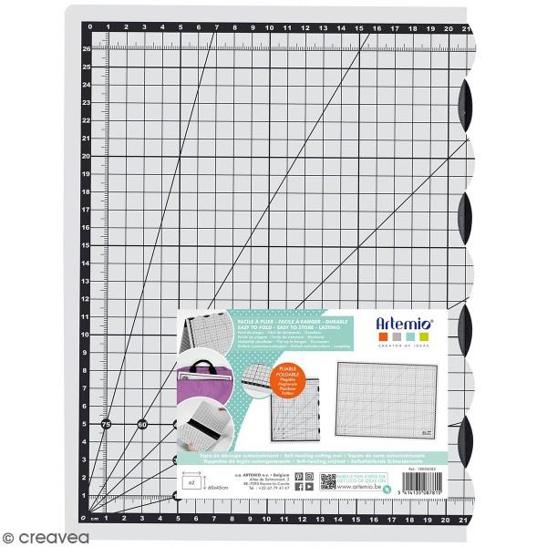 tapis de decoupe pliable artemio 60 x 45 cm
