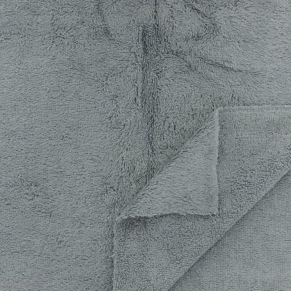 tissu eponge de bambou gris par 10 cm sur mesure