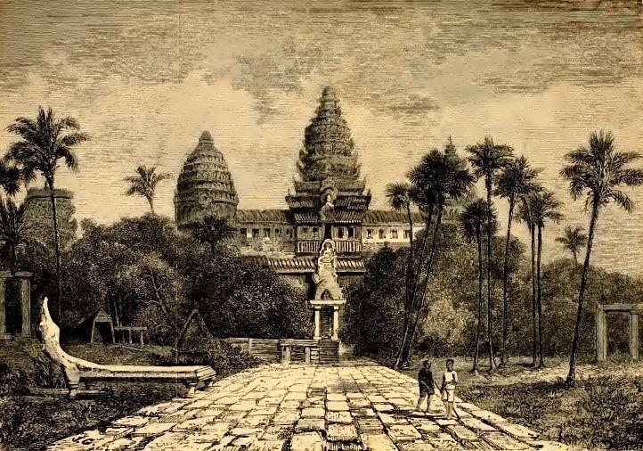 libro sobre camboya henri mouhot